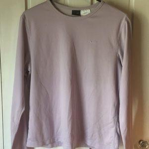 Nike Dri Fit Lavender Pullover Athletic Shirt